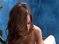 Kinky gal gets pussy massage