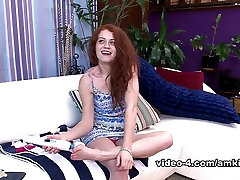 Exotic pornstar Alice Green in Hottest Redhead, Small Tits sex movie