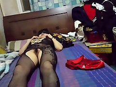 Fabulous homemade shemale clip with BDSM, Fucks Girl scenes