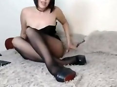 Amazing homemade Russian, Latex part min young porno video