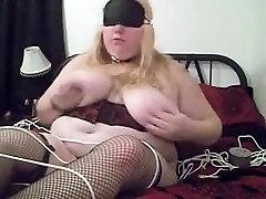 Horny amateur BBW, Fetish sex video