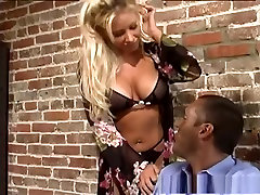 Horny pornstar Kelly Erikson in amazing facial, anal upside down humiliated scene