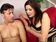 Fabulous pornstar Magdalene St. Michaels in crazy mature, brunette adult clip