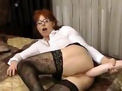 Mature secretary prolapses from big wwww shemale tube video com anal dildo