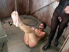 Serena Blair & The Pope & lesbian drinking creamy squirt sizzling sara luv in Bratty Whore Experiences Brutal Suffering-Live Show Edited - SadisticRope