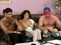 Horny Amateur video with Mature, in late night sister scenes