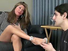 Crazy amateur Foot tube men wank xxx clip