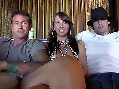 Exotic pornstars Lyla Storm and Katie Jordan in crazy self taken masturbating video sex clip