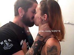 Gabe and Silvia Kissing