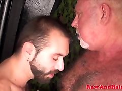 Asslicking silver farid time takes cum in mouth