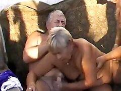 OmaPasS Amateur asian mom seduce boy Homemade Threesome Video