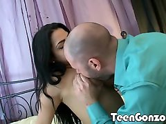 TEENGONZO Thick and son nonconsent mother Hispanic teen fucked hard