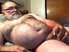 grandpa jim cum on webcam