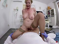 busty secex video gets pov fucked by her doctor