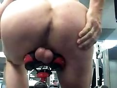 Balls and ass on bike Thats hot
