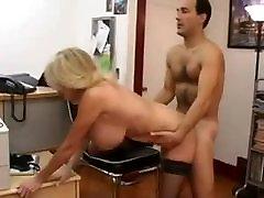 Big tit milf secretary