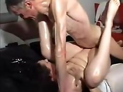 Skinny grannies lesbian squirt xxx khusre with thick cock fucks milf