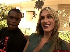 shemales ridding girl Sarah Jessie takes 2 big black cocks
