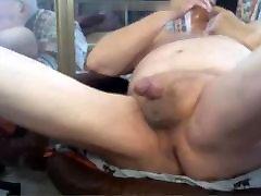 Old man of 85 age cum in cam