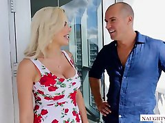 Nina Elle&039;s big fat bombs in your face! - Naughty America