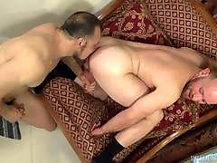 Big Fat Bear Cock for his Horny Ginger Hole