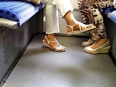 two granny&039;s hd bouncing tits feet