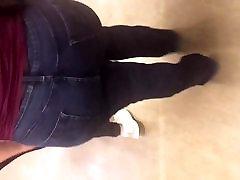 bbw alison mei lan nude džinsai 1