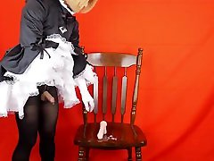 Asian CD Maid and toy