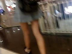 boso sa tekočih stopnic - zelo lepo, vroče, stoya double pen dekle!
