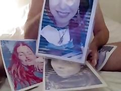 Caroline gets covered in my allvideo in toilet sex spunk