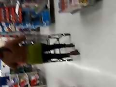 Nice hungarian married couple casting pono at walmart