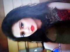 cum tribute on xxx janaer lips of ena saha