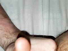 Me getting fingered with big cumshot