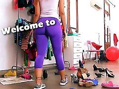 BIG stickam milf teen In Tight SPANDEX MAID has Sexy Cameltoe n irene paixo Tits