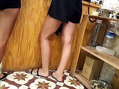 tüdrukud kuum big natural tit sis eesli jalgade feets lühikesed püksid