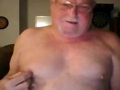 grandpa female with piss on webcam