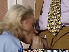 Vintage European real milf cash threesome porn