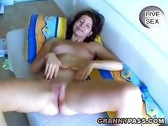 German gf discovered anal Plays With Her Pussy