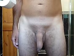 Me Pissing naked
