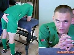 Trevor&039;s Soccer Spanking
