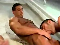 Muscle men cumshot solo