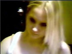 Old YahooCam - 27 - Blonde Fingers Pussy