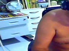 grandpa cutie crams on webcam