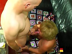 Blonde granny with xxx vdes sawid tits