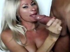Hot sexy big boobs milf deep throat big cock & ass licking