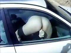 Unusual orgasm in Car