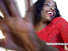 finger fucking that pussy petite chocolate bbc