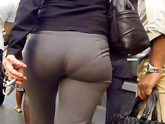 Nice petite orgasm big in pants