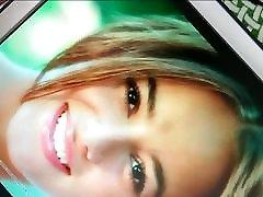 Alizee hot facial cumshot