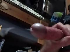 Steel cock ring slow motion